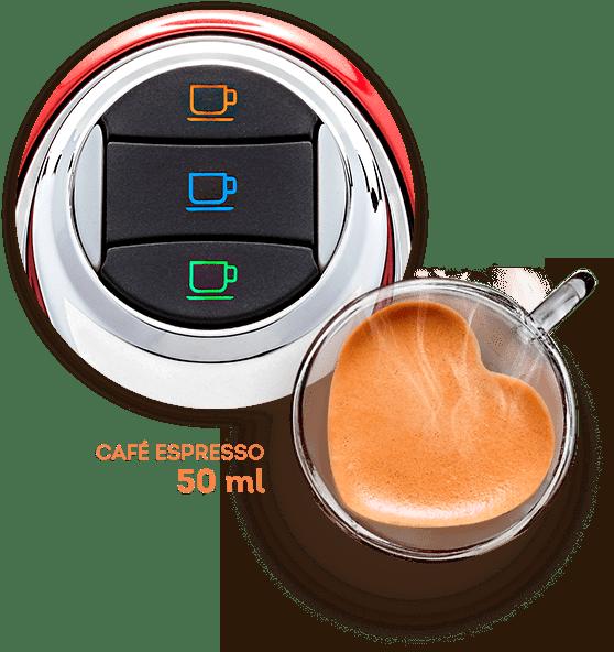 Café espresso - Cafeteira TRES - 3 Corações